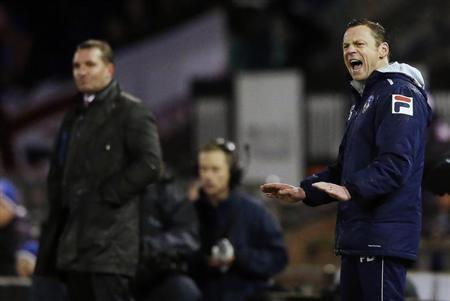 Liverpool upset might not save Oldham boss from the sack