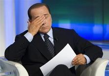 Il leader del Pdl Silvio Berlusconi. REUTERS/Remo Casilli
