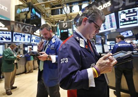 Wall Street advances as defensive stocks extend rally