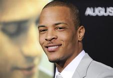 "Actor Tip ""T.I."" Harris arrives at the premiere of ""Takers"" in Los Angeles, California, August 4, 2010. REUTERS/Gus Ruelas"