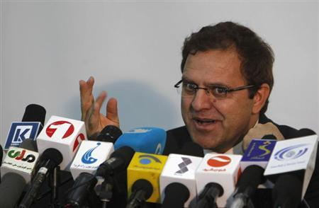Afghan Finance Minister Hazrat Omar Zakhilwal speaks during a news conference in Kabul August 7, 2012. REUTERS/Omar Sobhani/Files