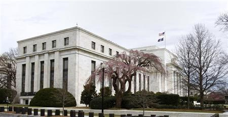 The U.S. Federal Reserve Building is pictured in Washington, March 18, 2008. REUTERS/Jason Reed