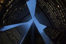 Buildings are seen in the financial district in Toronto, January 28, 2013. REUTERS/Mark Blinch