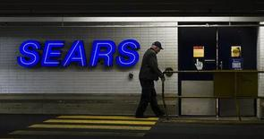 A customers enters the Sears store in North Vancouver, British Columbia February 23, 2011. REUTERS/Andy Clark