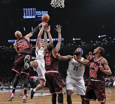 Brooklyn Nets overcome road warrior Bulls