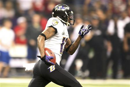 Jacoby Jones enjoys Super Bowl win with all the fixings