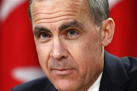 Bank of Canada Governor Mark Carney listens to a question during a news conference in Ottawa in this file photo taken January 23, 2013. REUTERS/Chris Wattie