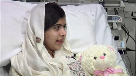 Pakistani girl shot by Taliban doing well after surgery - doctors