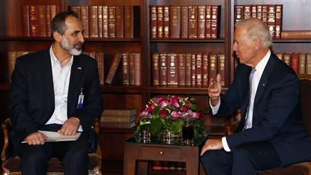 Syrian opposition chief says offers Assad peaceful...