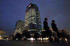 The headquarters of Universal Entertainment Corp is pictured in Tokyo November 30, 2012. REUTERS/Toru Hanai