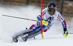 Michel Vion, le président de la Fédération Française de Ski (FFS) estime que le ski français n'a pas eu d'éléments comparables à Alexis Pinturault jusqu'à aujourd'hui . /Photo d'archives/REUTERS/Dominic Ebenbichler