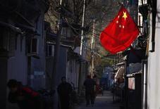 La Chine a annoncé mardi une vaste réforme de la répartition des revenus afin de lutter contre les inégalités et prévoit notamment d'augmenter la proportion des bénéfices reversés par les entreprises d'Etat. /Photo prise le 13 novembre 2012/REUTERS/David Gray