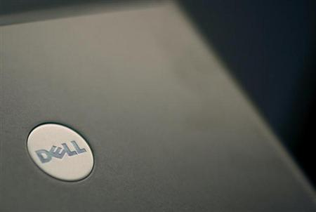 A Dell laptop computer is seen in New York August 26, 2008. REUTERS/Brendan McDermid/Files