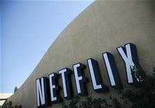La página de alquiler de vídeos en Internet Netflix ha llegado a un acuerdo para retransmitir las películas producidas por Flavor Unit Entertainment, dijeron el martes las compañías. En esta imagen de archivo, la sede de Netflix en Los Gatos, California, el 20 de septiembre de 2011. REUTERS/Robert Galbraith