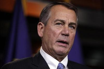 House Speaker Boehner opposes delay in automatic budget cuts