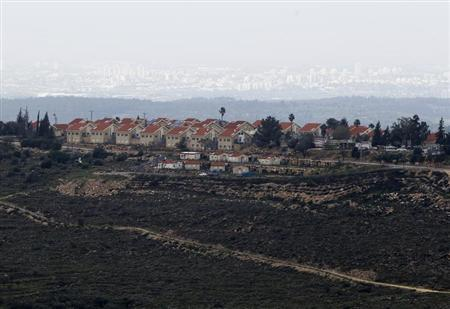 A general view shows the Jewish settlement of Nili, near the West Bank city of Ramallah February 1, 2013. REUTERS/Baz Ratner