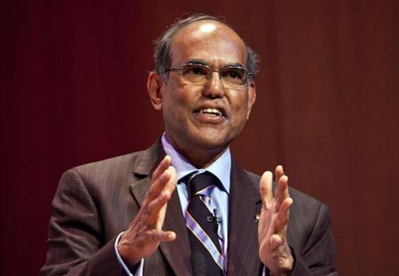 Duvvuri Subbarao, governor of the Reserve Bank of India, speaks during ''The Citi Series on Asian Business Leaders'' at the Asia Society in New York, August 29, 2012. REUTERS/Andrew Burton/Files