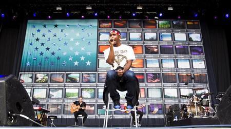 U.S. singer Frank Ocean performs at the Oya music festival in Oslo, August 9, 2012. REUTERS/Vegard Grott/NTB Scanpix/Files