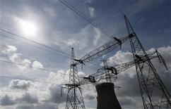 Electrabel, filiale belge de GDF-Suez, a exercé un abus de position dominante concernant la production, la vente en gros et la commercialisation d'électricité, selon un membre de l'Autorité belge de concurrence. /Photo d'archives/REUTERS/François Lenoir