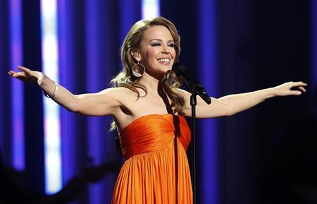 Singer Kylie Minogue performs at the Nobel Peace Prize Concert in Oslo December 11, 2012. REUTERS/Suzanne Plunkett/Files