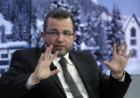 Egypt's Prime Minister Hisham Kandil attends the annual meeting of the World Economic Forum (WEF) in Davos January 25, 2013. REUTERS/Denis Balibouse