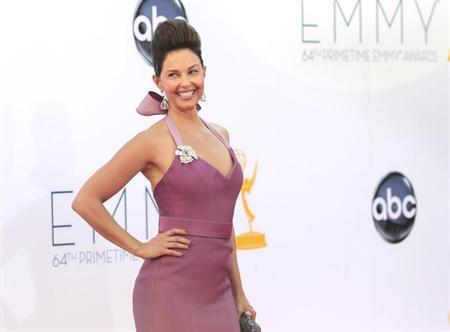 Actress Ashley Judd arrives at the 64th Primetime Emmy Awards in Los Angeles September 23, 2012. REUTERS/Mario Anzuoni
