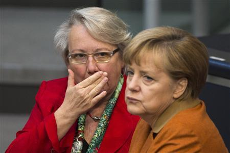 Ally's resignation spares German chancellor drawn-out scandal