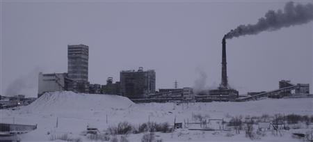 The Vorkutinskaya mine in Russia's northern Komi region.