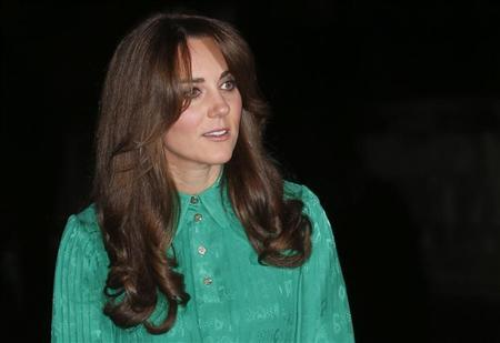 Britain's Catherine, Duchess of Cambridge arrives for a reception at the Natural History Museum in London November 27, 2012. REUTERS/Suzanne Plunkett