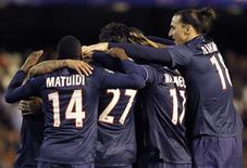 En allant s'imposer 2-1 à Valence mardi soir en huitième de finale de Ligue des champions, le PSG a démontré qu'il avait bel et bien le niveau européen mais aussi encore un certain nombre de choses à apprendre. /Photo prise le 12 décembre 2013/REUTERS/Heino Kalis