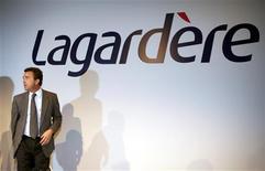 Arnaud Lagardère, gérant commandité du groupe de médias éponyme. Lagardère a assigné Vivendi en justice, lui demandant de restituer 1,6 milliard d'euros de trésorerie à Canal+ France dont il est actionnaire minoritaire. /Photo d'archives/REUTERS/Charles Platiau