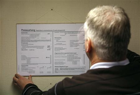 One-man bank keeps German village business running