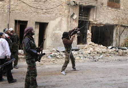 Syrian troops bombard rebel posts around capital