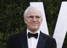 Actor Steve Martin arrives at the 2012 Vanity Fair Oscar party in West Hollywood, California February 26, 2012. REUTERS/Danny Moloshok