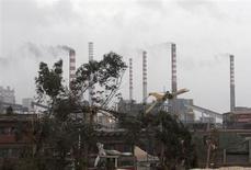 Acciaieria Ilva a Taranto 28 novembre 2012. REUTERS/Renato Ingenito