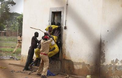 Uganda prison riot