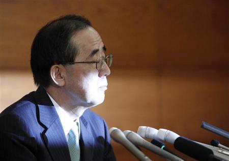 Bank of Japan Governor Masaaki Shirakawa speaks during a news conference in Tokyo February 14, 2013. REUTERS/Yuya Shino