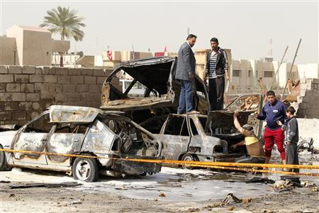Blasts hit Shi'ite districts in Baghdad, killing...