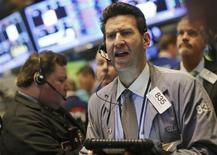 Un trader. REUTERS/Brendan McDermid