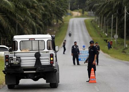Malaysian stand-off said result of Philippine peace deal