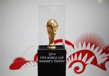 La Fédération internationale de football (Fifa) a confirmé mardi que la vidéo serait utilisée lors de la Coupe du Monde 2014 au Brésil pour vérifier si le ballon a franchi la ligne de but. /Photo prise le 12 février 2013/REUTERS/Tomas Bravo