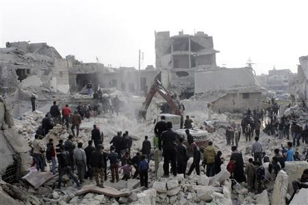 """Syria """"Scud-type"""" missile said to kill 20 in..."""