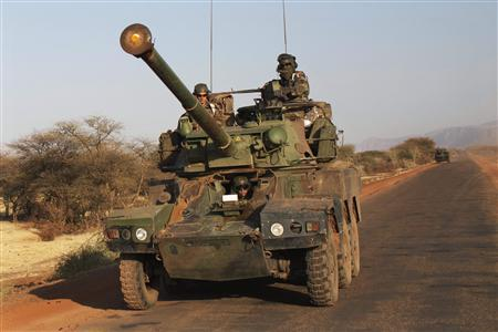 French soldier killed in Mali, 20 rebels dead