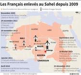 LES FRANÇAIS ENLEVÉS AU SAHEL DEPUIS 2009