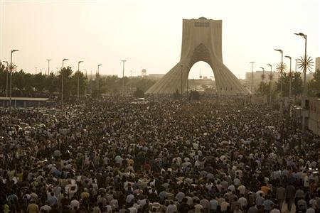 Tehran's Azadi Tower, witness to history, victim of neglect