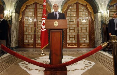 Outgoing Tunisian PM Jebali to stand down: Ennahda party