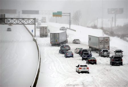 Major snowstorm headed for New England