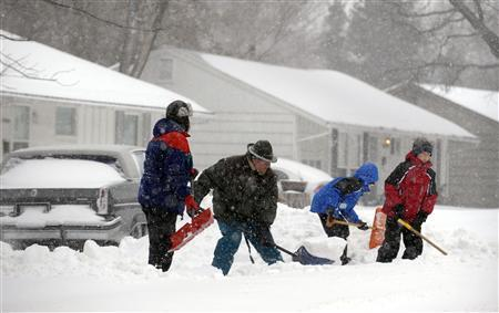 Third straight weekend storm heads for New England