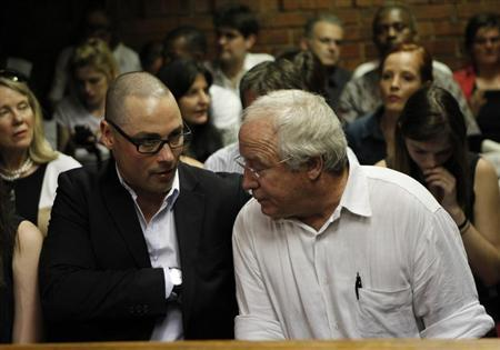 Pistorius's brother faces trial in woman's road death