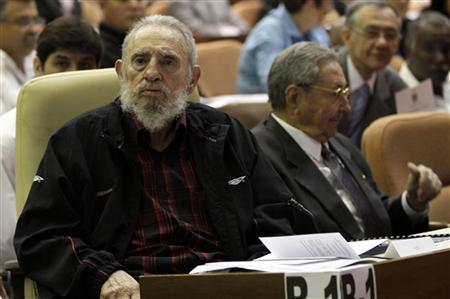 Fidel Castro surprises with parliament appearance amid leadership speculation